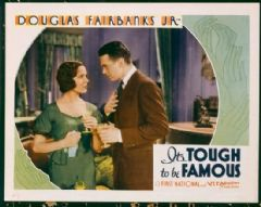 It's Tough to Be Famous 1932 DVD - Mary Brian / Douglas Fairbanks Jr